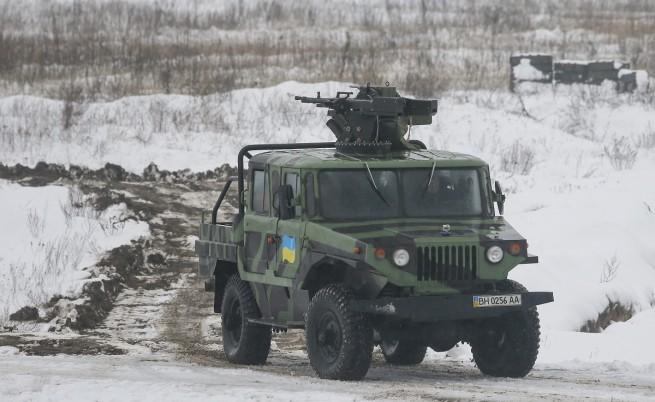 Военни от Великобритания ще обучават украинската армия