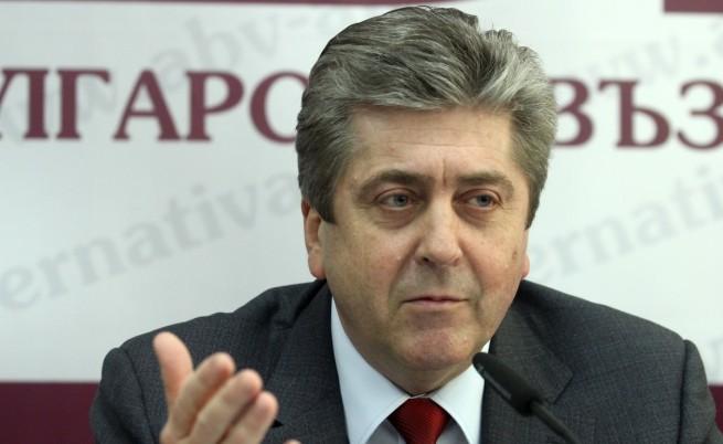 Първанов: Конституционните промени са неприемливи