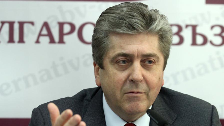 Първанов: Създава се впечатление за договорка БСП-ГЕРБ