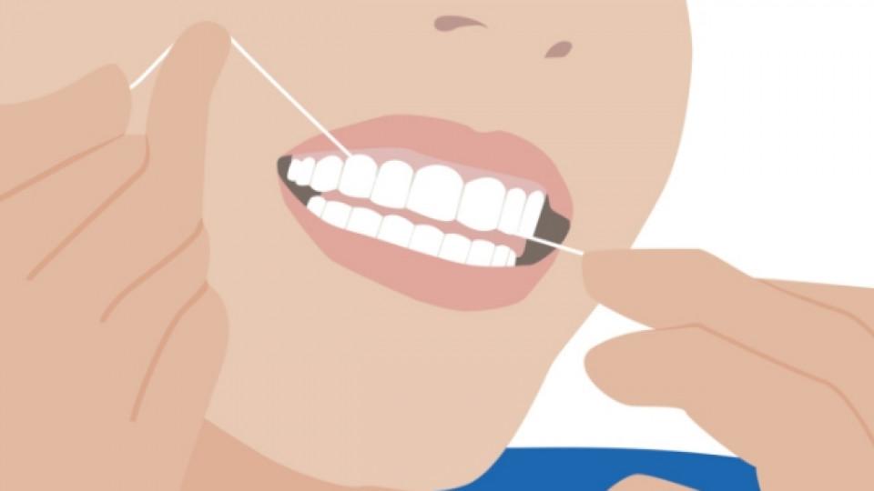 Конецът за зъби - необходимото добро