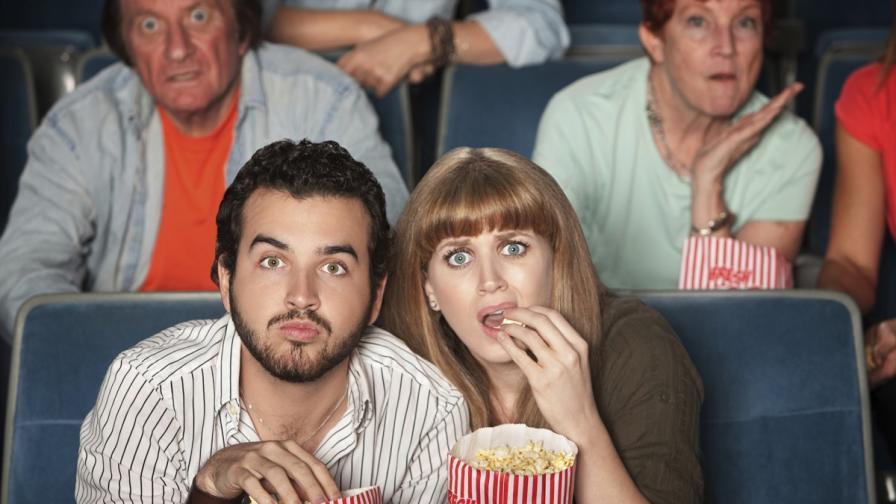 Тъжните филми карат хората да ядат повече пуканки
