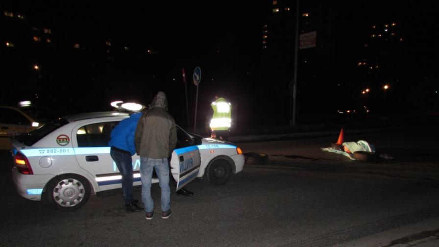 Жена беше убита на пешеходна пътека в Русе, шофьорът избяга