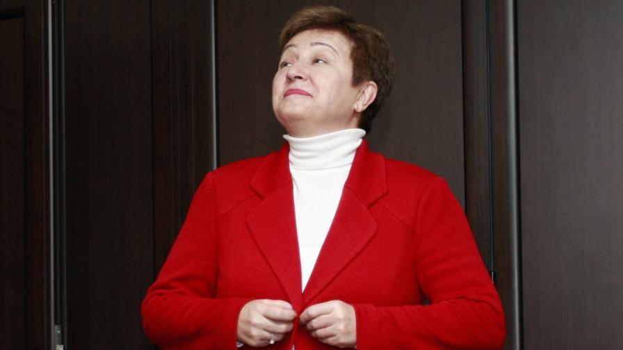 Кисталина Георгиева: Не можем да си позволим съмнение в банковата система