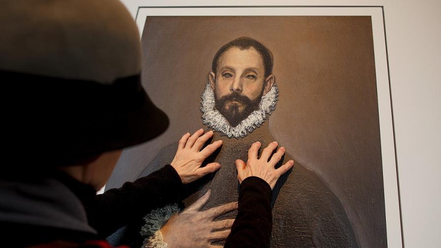 """Музеят """"Прадо"""" откри първата 3D изложба за незрящи"""