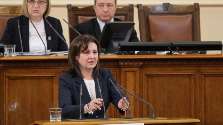 Румяна Бъчварова: Не принадлежа на никакво лоби