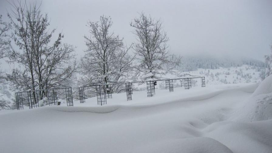 Нови три жертви на снега в Кърджалийско и Кюстендилско