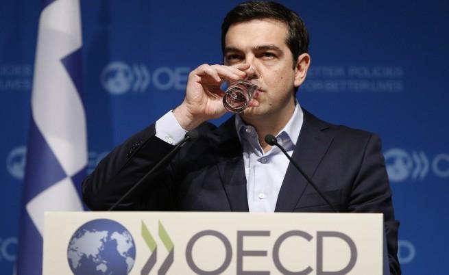 Алексис Ципрас пред ОИСР: Вече не можем да се правим, че държавният дълг е устойчив