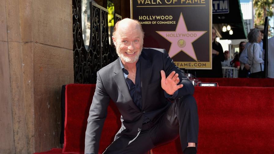 Ед Харис получи звезда на холивудската Алея на славата