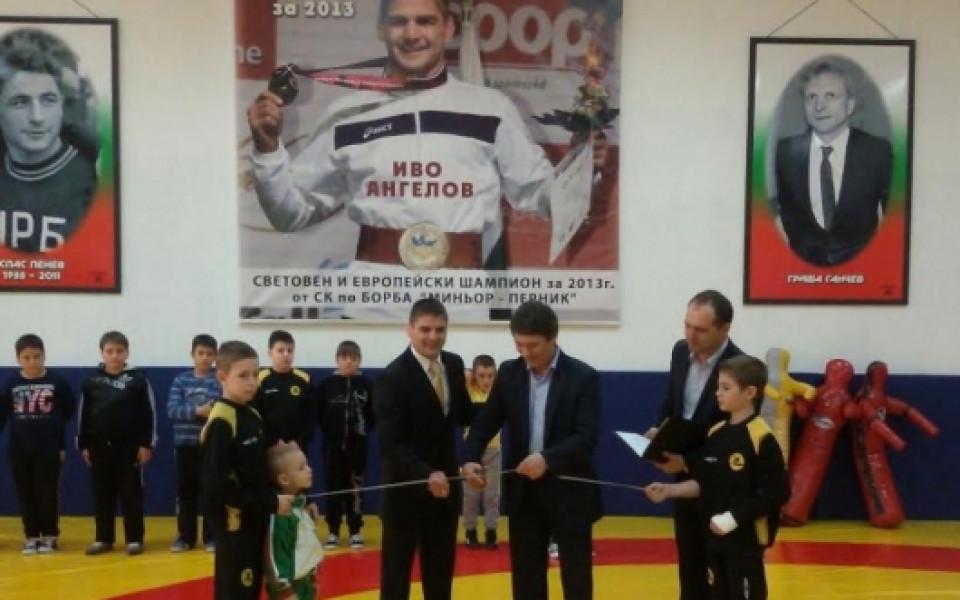 """Приключва ремонтът на волейболната зала в спортен комплекс """"Дружба"""" в"""