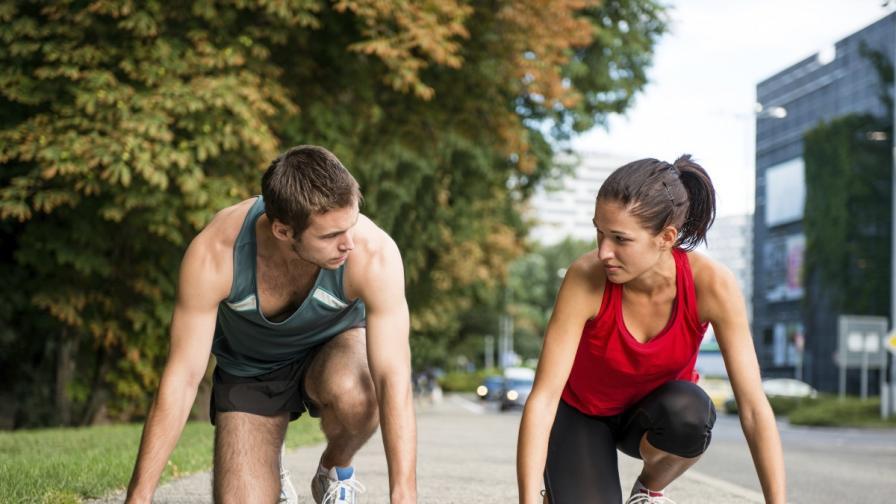 Мъжете спортуват два пъти повече от жените