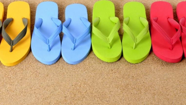 джапанки чехли сандал удобство лято плаж