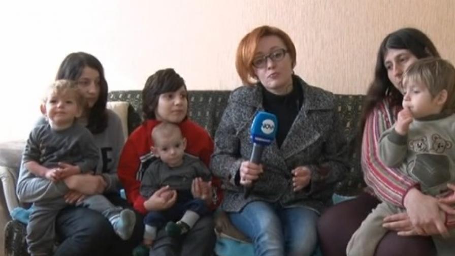 Семейство с 10 деца може да изгуби дома си