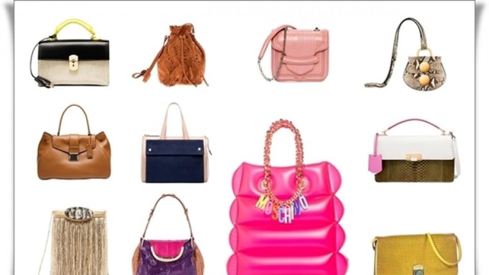 Чантите на пролет/лято 2015 – цветни, странни и разкошни