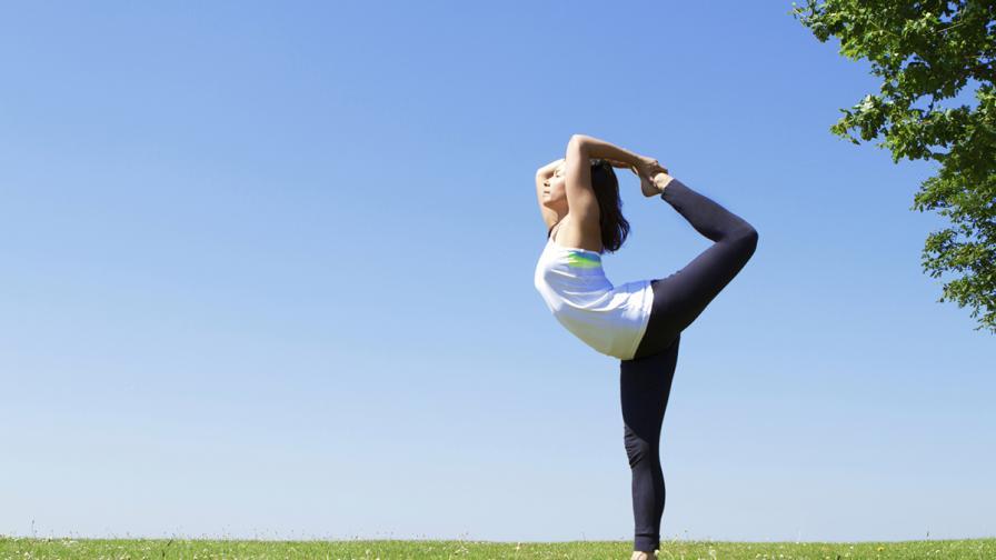 През септември - повече йога в парковете