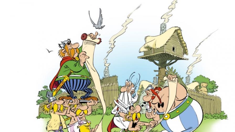 Нова книжка с комикси за Астерикс ще излезе през есента