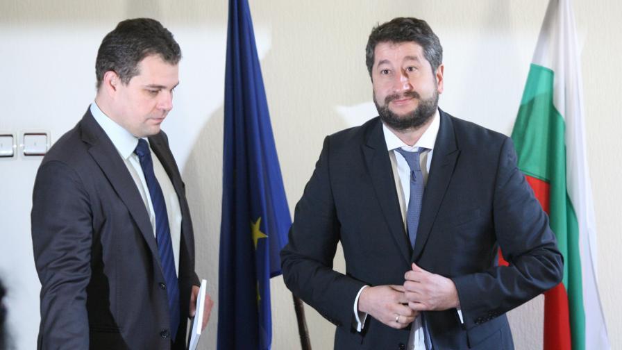 Петко Петков и Христо Иванов