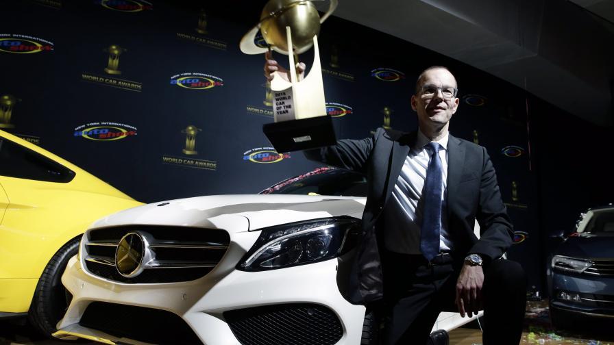 """""""Мерцедес C-класа"""" – световен автомобил на годината"""
