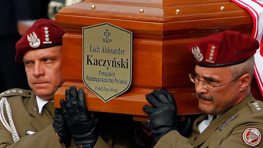В катастрофата загина и президентът Лех Качински