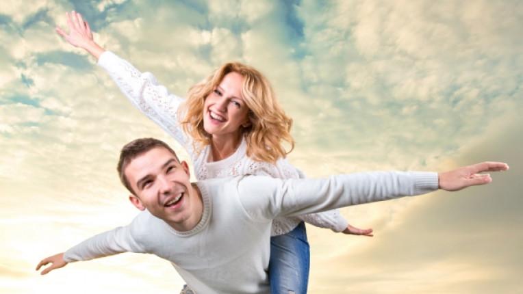 двойка щастие любов връзка