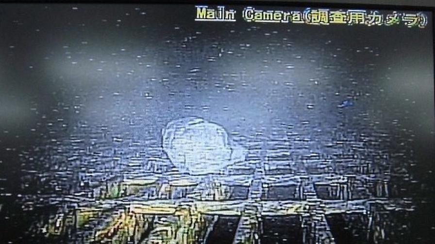"""Кадрите, заснети във вътрешността на """"Фукушима-1"""""""