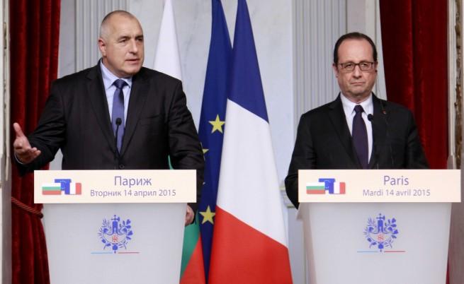 Борисов в Париж: Намерихме мотор за газовия хъб
