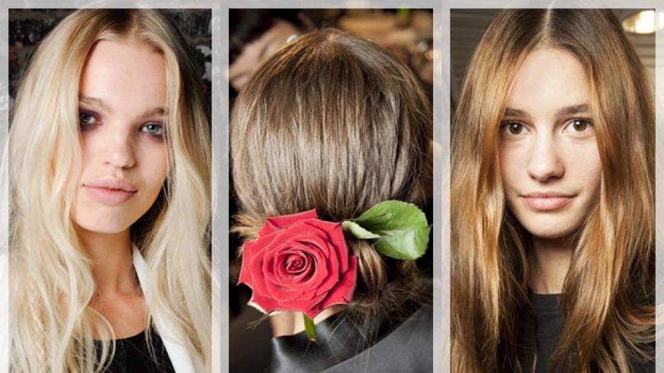 Феерия от дълги коси за пролет/лято 2015