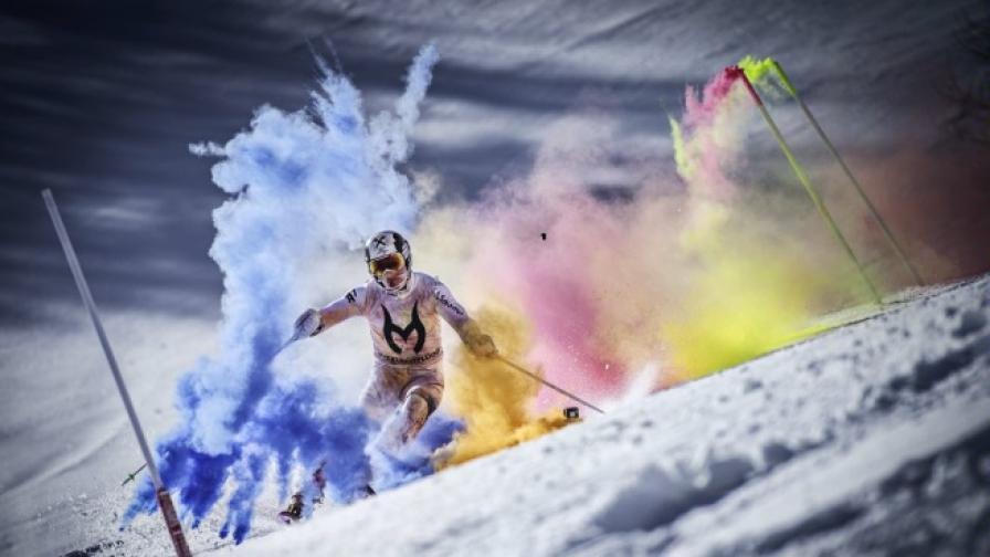 Цветната експлозия на Марсел Хиршер (видео)