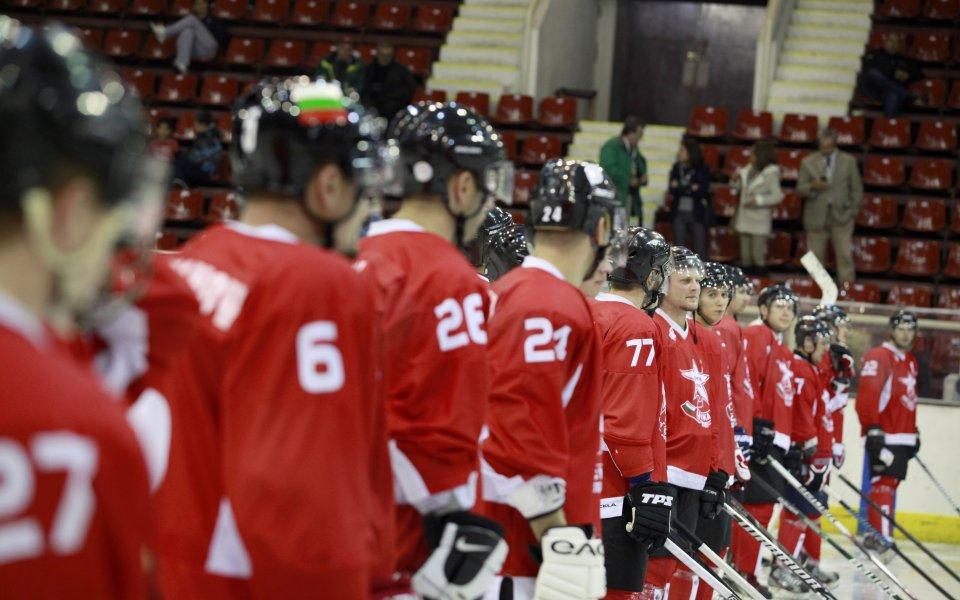 България разгроми Нова Зеландия на хокей на лед