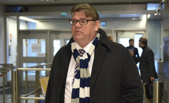 """Тимо Сойни, лидерът на дясната евроскептична партия """"Финландците"""""""
