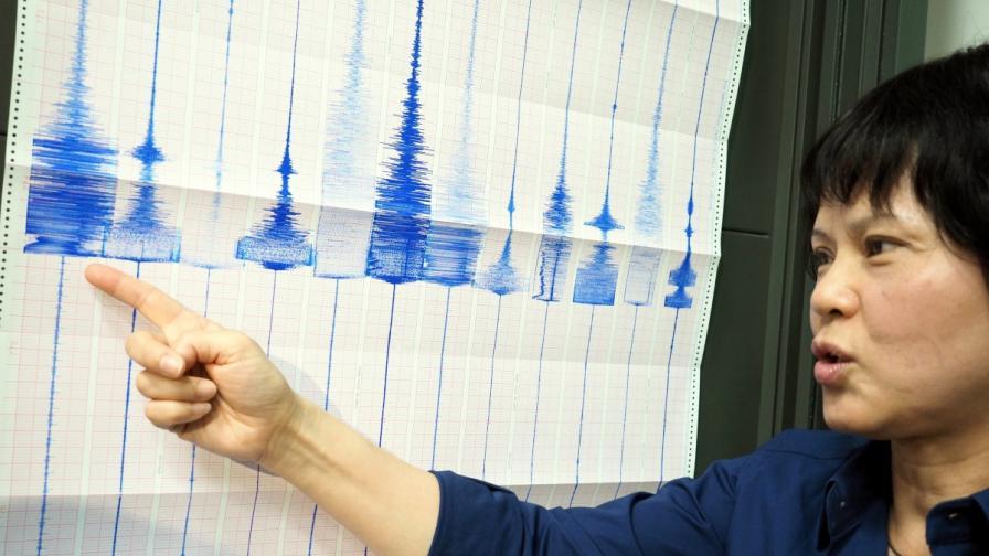 Земетресение с магнитуд 6,8 удари Тайван