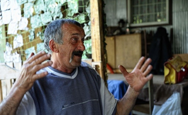 Николай Спасов е еднакво сладкодумен и в рибарските истории и в истории, свързани с живота на село