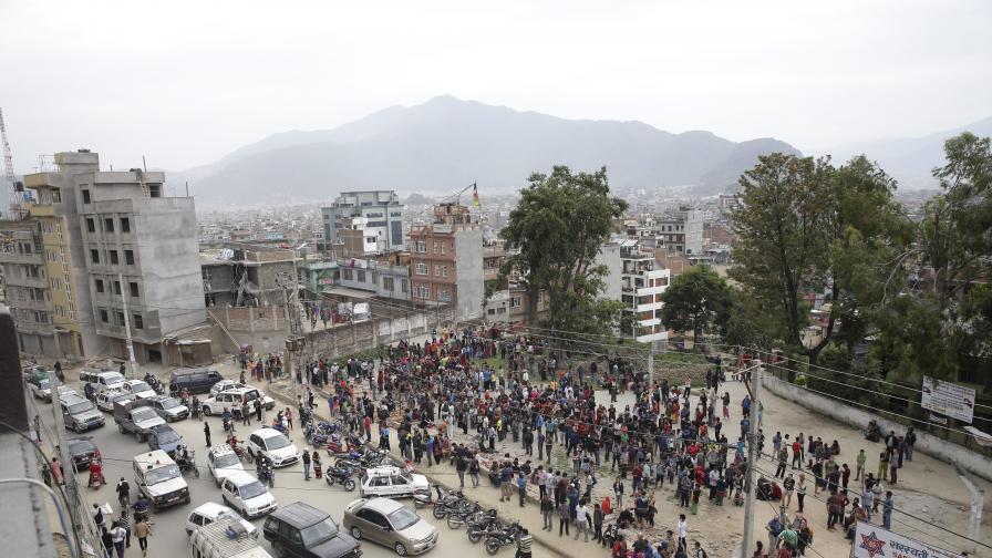Над 50 вторични труса и 2500 жертви в Непал