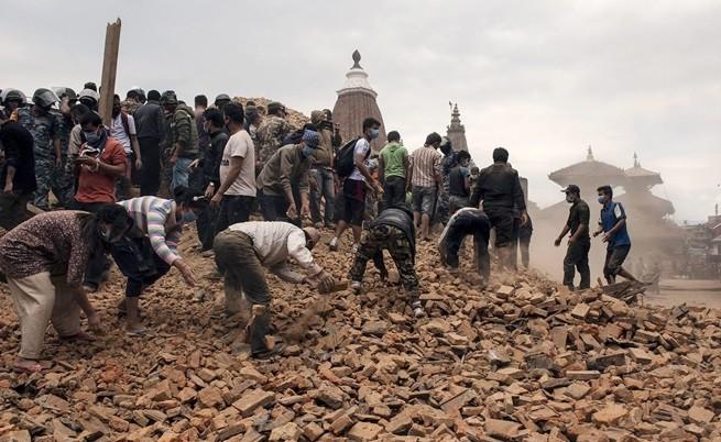 Френски учени предупредили за труса в Непал преди 2 седмици