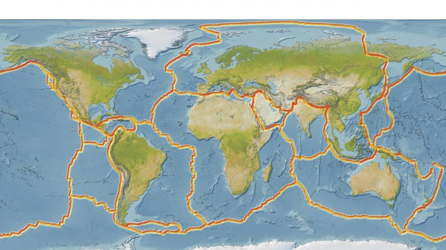 На Земята бавно се оформя нов суперконтинент