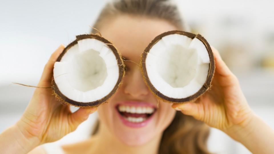 Подхранваща терапия с кокос и лавандула за блясък в косата