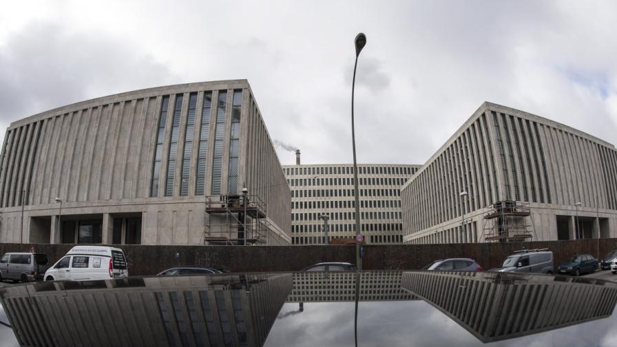 Сградата на БНД, германскорто разузнавателно управление