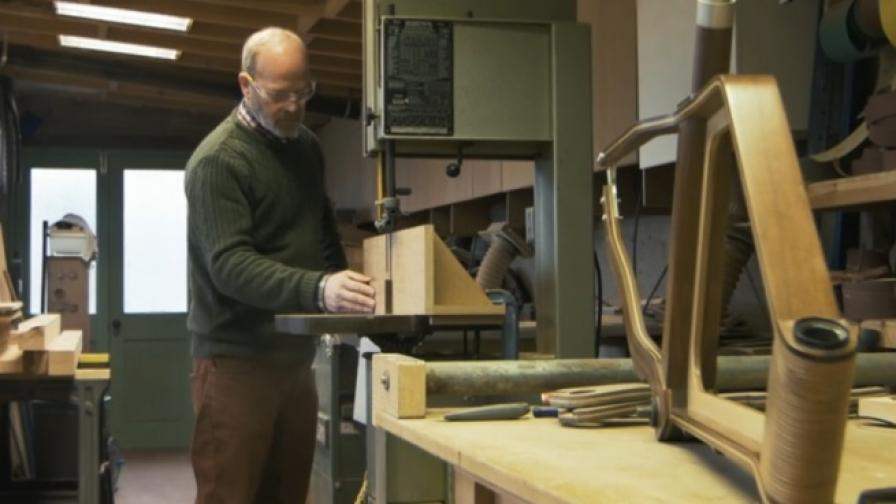 Създаването на дървено колело (видео)