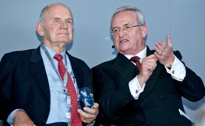 Фердинанд Пиех (л) и Мартин Винтеркорн