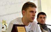 Везенков отново с приза Рачо Колев за Най-добър млад баскетболист