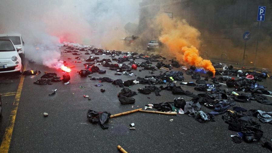Сблъсъци на протест срещу Експо 2015 в Милано