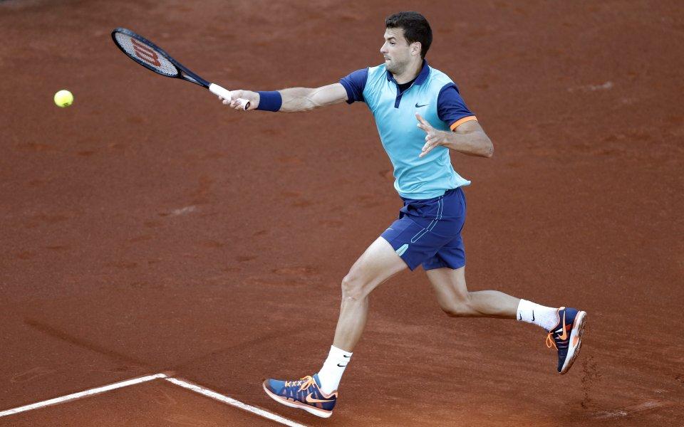 Разочароващ Григор се прости с мечтата за финал с Федерер