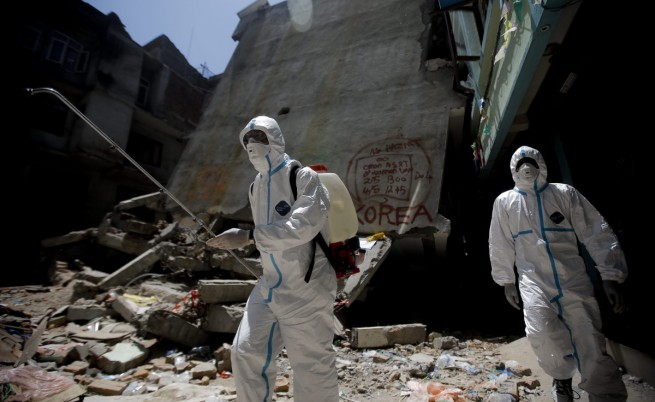 Непал заплашен от епидемии