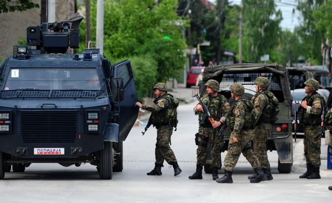 Македонското МВР: В Куманово е извършено терористично нападение
