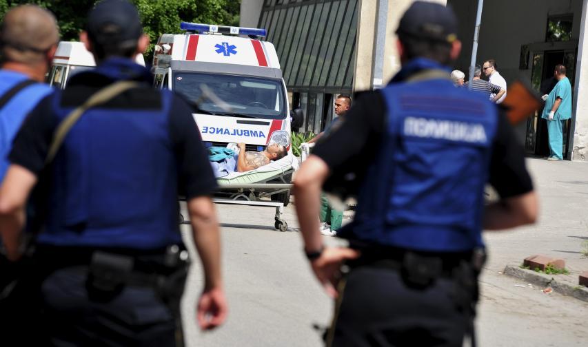 Куманово Македония полиция