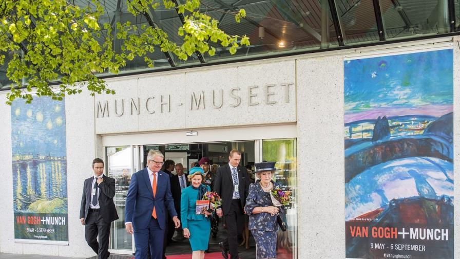 Откриха изложба на Ван Гог в норвежкия музей на Мунк