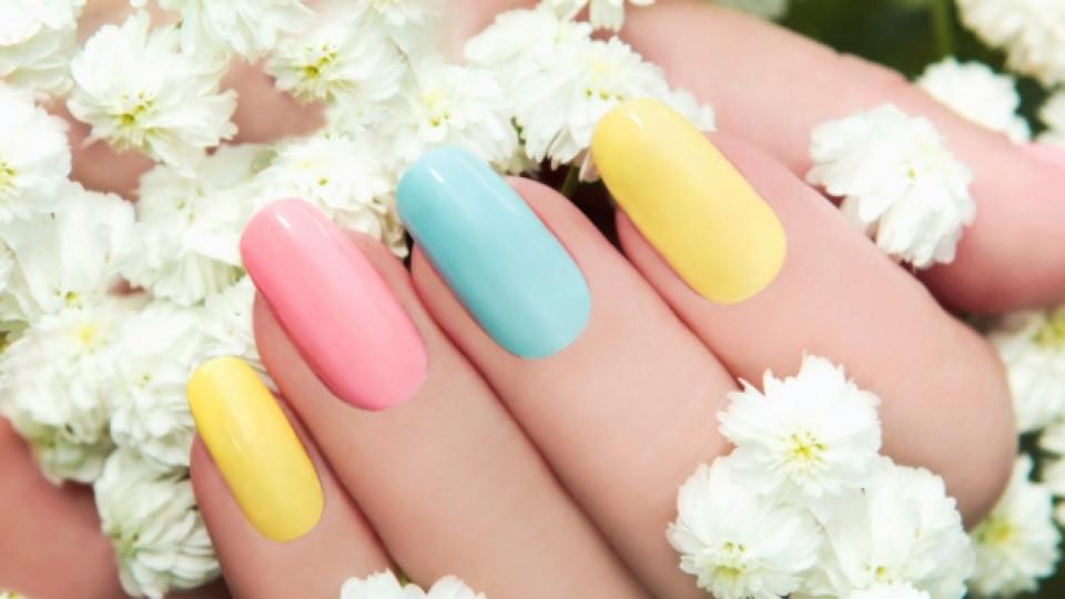 Маникюрът на пролет/лято 2015: Цветове в действие