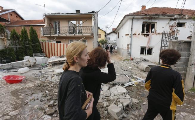 66 къщи и 121 семейства са претърпели щети по време на полицейската операция в Куманово
