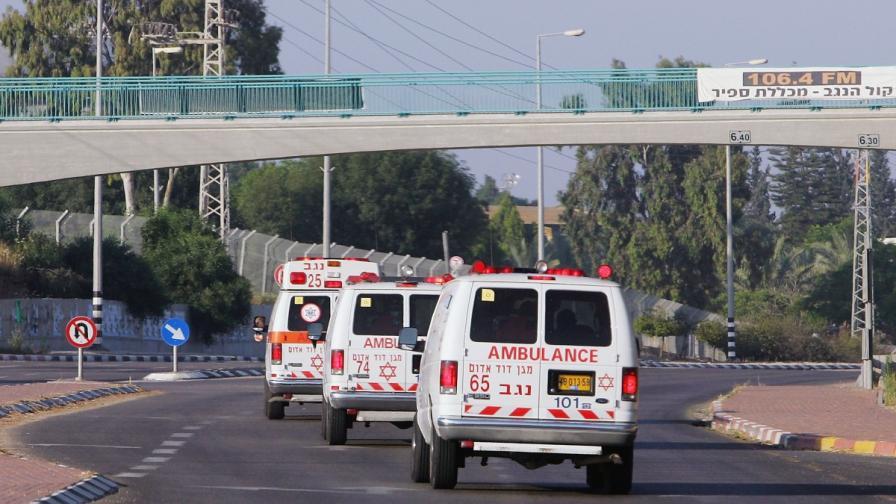 Кола се вряза в пешеходци близо до Йерусалим, има ранени