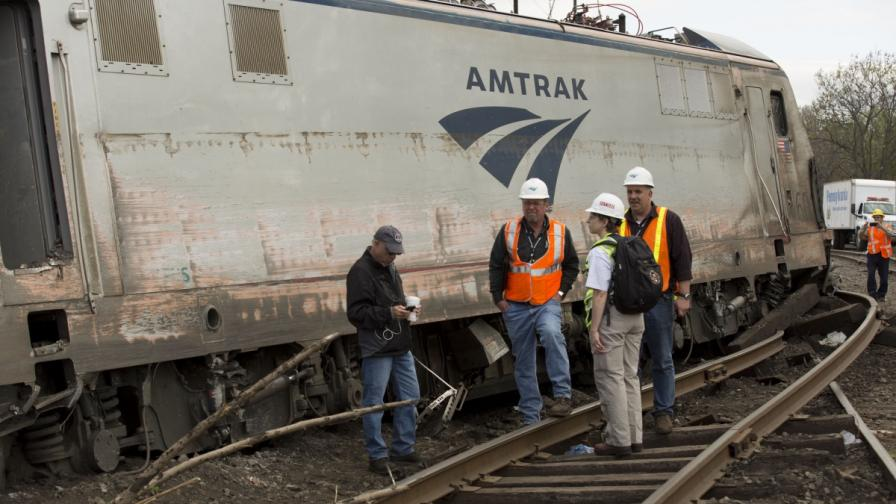 Машинистът на дерайлиралия влак в САЩ не помни инцидента