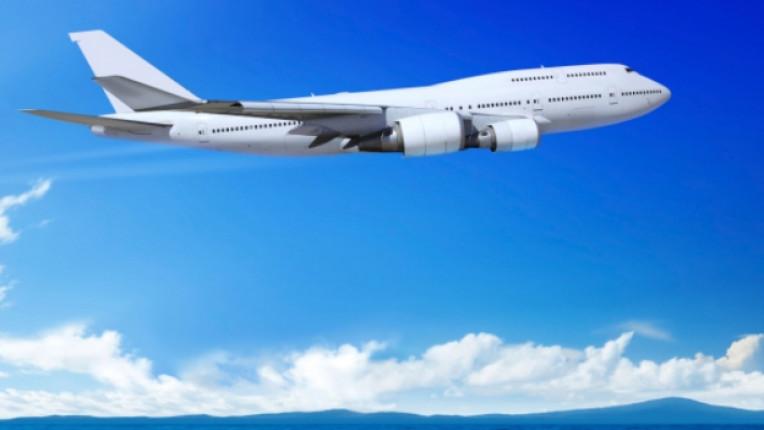 самолет полет небе